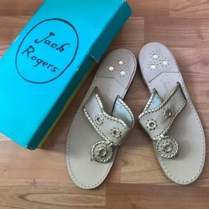 Jack Rogers Nantucket sandals new in box size 9.5